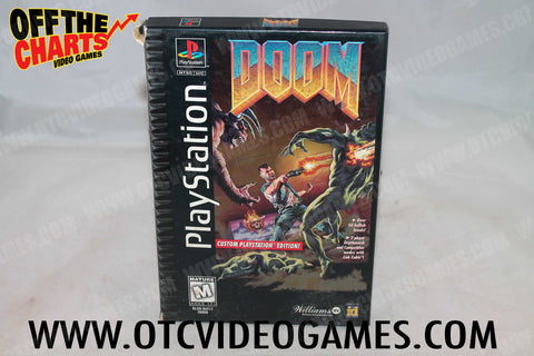 Doom Playstation Game Off the Charts