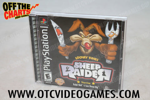 Looney Tunes: Sheep Raider Playstation Game Off the Charts