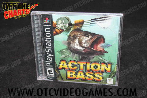 Action Bass Playstation Game Off the Charts