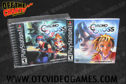 Chrono Cross Playstation Game Off the Charts