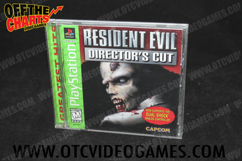 Resident Evil Director's Cut - Off the Charts Video Games