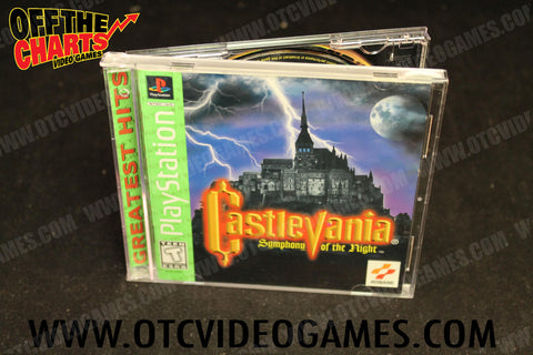 Castlevania Symphony of the Night Playstation Game Off the Charts
