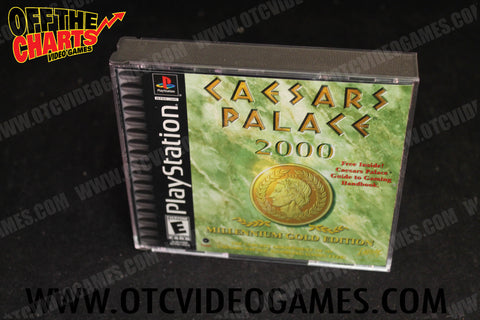 Caesar's Palace 2000 Playstation Game Off the Charts