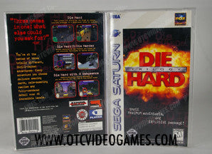 Die Hard Trilogy Sega Saturn Game Off the Charts