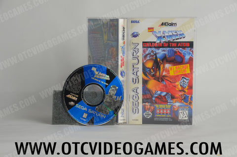 X-Men Children of the Atom Sega Saturn Game Off the Charts