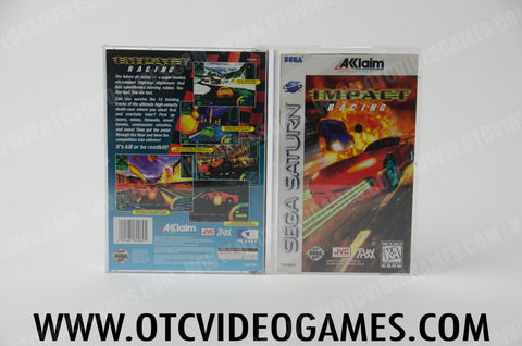 Impact Racing Sega Saturn Game Off the Charts