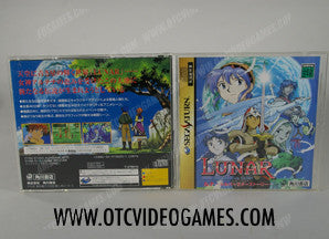 Lunar Silver Star Story Sega Saturn Game Off the Charts