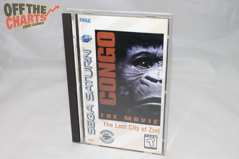 Congo The Movie The Lost City of Zinj Sega Saturn Game Off the Charts