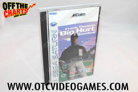Frank Thomas: Big Hurt Baseball Sega Saturn Game Off the Charts