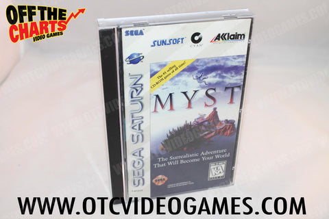 Myst Sega Saturn Game Off the Charts