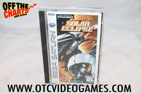 Solar Eclipse Sega Saturn Game Off the Charts