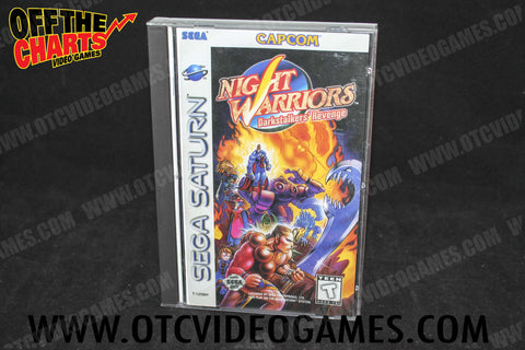 Night Warriors Darkstalkers' Revenge Sega Saturn Game Off the Charts