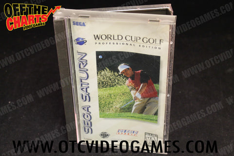 World Cup Golf Professional Edition Sega Saturn Game Off the Charts