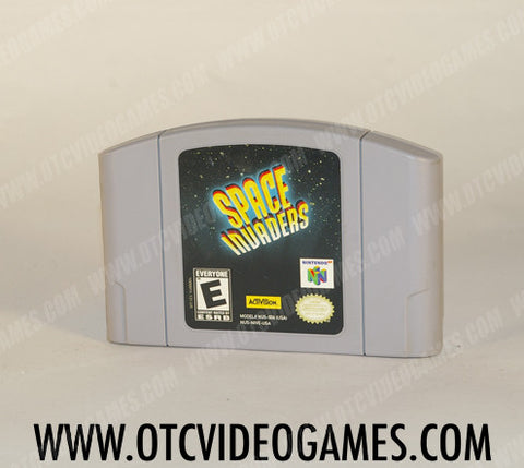 Space Invaders Nintendo 64 Game Off the Charts