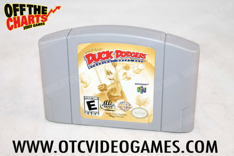 Duck Dodgers Nintendo 64 Game Off the Charts