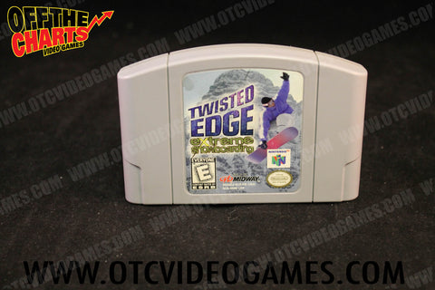 Twisted Edge Nintendo 64 Game Off the Charts