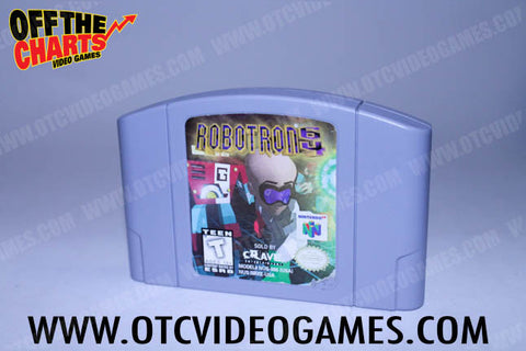 Robotron 64 Nintendo 64 Game Off the Charts