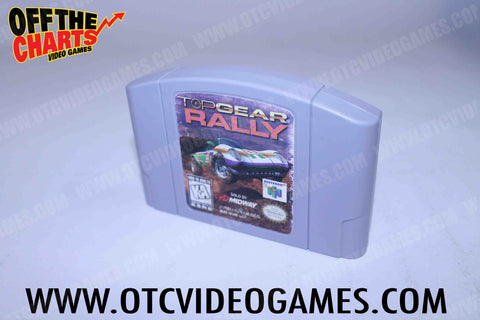 Top Gear Rally Nintendo 64 Game Off the Charts