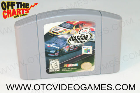 Nascar 2000 - Off the Charts Video Games