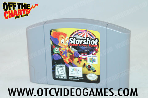 Starshot Space Circus Fever Nintendo 64 Game Off the Charts