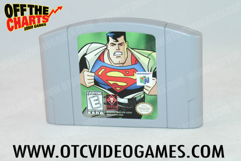 Superman Nintendo 64 Game Off the Charts