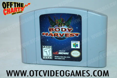 Body Harvest Nintendo 64 Game Off the Charts