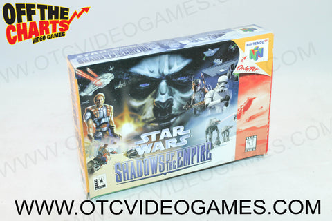 Star Wars Shadows of the Empire Box Nintendo 64 Box Off the Charts
