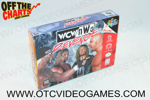 WCW/NWO Revenge Box - Off the Charts Video Games