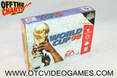 World Cup '98 Box - Off the Charts Video Games