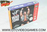 WWF War Zone Box Nintendo 64 Box Off the Charts