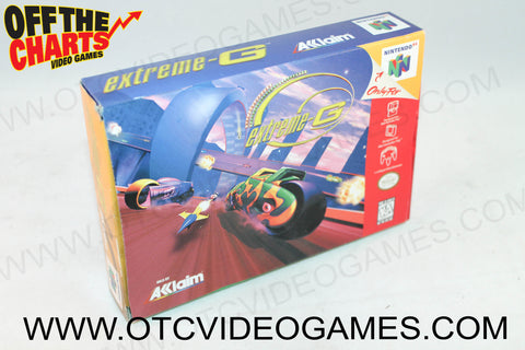 extreme-G Box Nintendo 64 Box Off the Charts