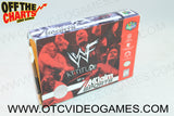 WWF Attitude Box Nintendo 64 Box Off the Charts