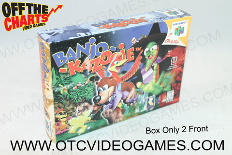 Banjo-Kazooie Box Nintendo 64 Box Off the Charts