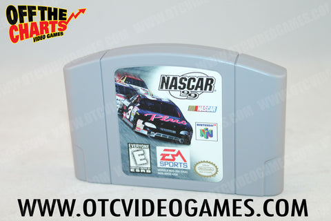 Nascar '99 Nintendo 64 Game Off the Charts