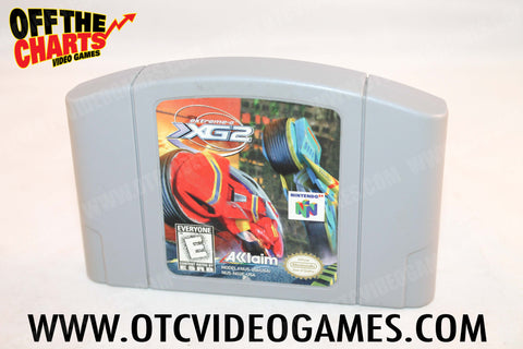 Extreme G 2 Nintendo 64 Game Off the Charts