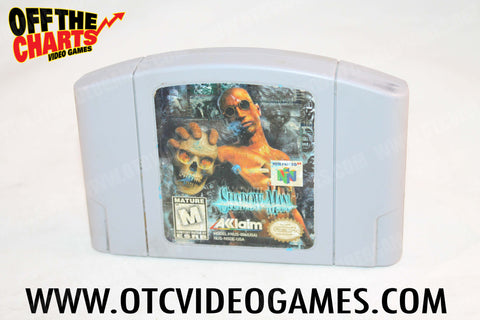 Shadow Man Nintendo 64 Game Off the Charts