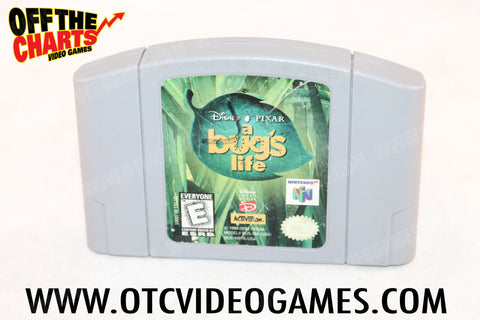 A Bug's Life Nintendo 64 Game Off the Charts