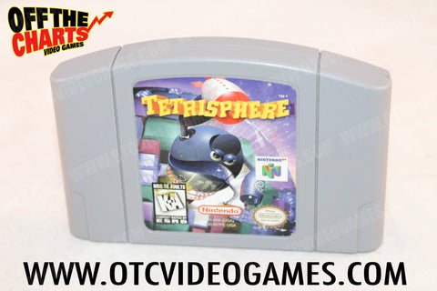 Tetrisphere Nintendo 64 Game Off the Charts