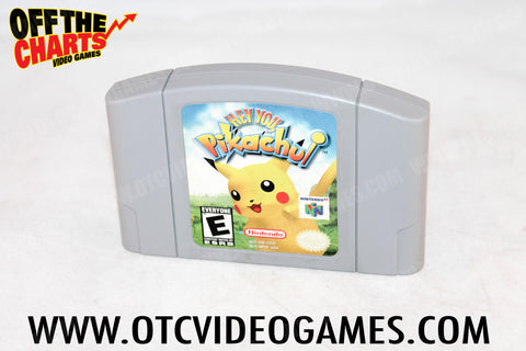 Hey You Pikachu - Off the Charts Video Games