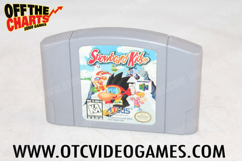 Snowboard Kids - Off the Charts Video Games