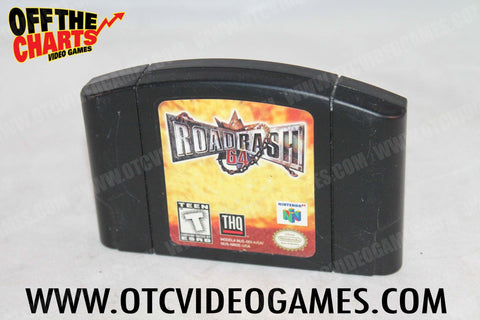 Road Rash 64 Nintendo 64 Game Off the Charts