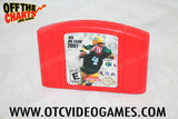 NFL Quarterback Club 2001 Nintendo 64 Game Off the Charts