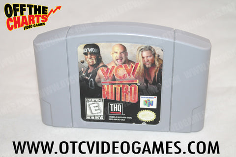 WCW Nitro Nintendo 64 Game Off the Charts