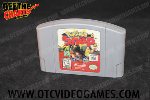 Pokemon Snap Nintendo 64 Game Off the Charts