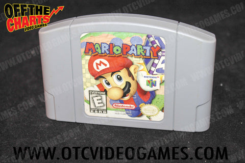 Mario Party - Off the Charts Video Games
