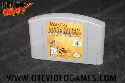 Duke Nukem Zero Hour - Off the Charts Video Games