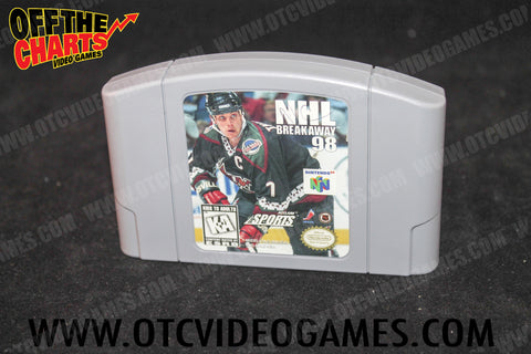 Buy NHL Breakaway '98 for N64 at Off the Charts