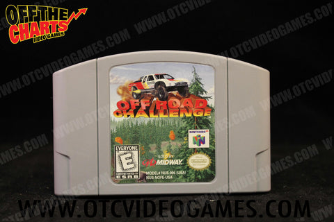 Off Road Challenge Nintendo 64 Game Off the Charts