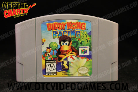 Diddy Kong Racing Nintendo 64 Game Off the Charts