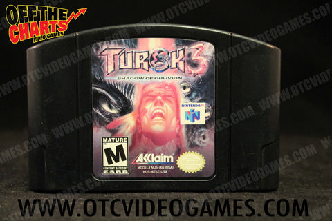 Turok 3 Shadow of Oblivion - Off the Charts Video Games